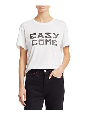 RE/DONE easy come girlfriend tee