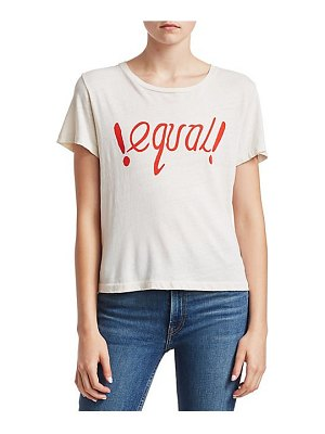 RE/DONE equal graphic t-shirt