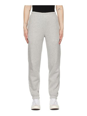 RE/DONE grey hanes edition 80s lounge pants