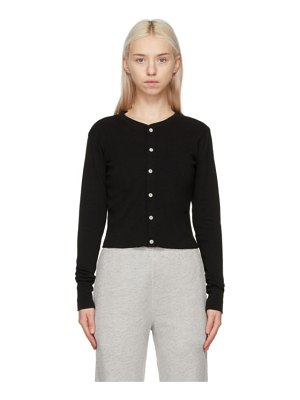RE/DONE hanes edition 50s cropped cardigan