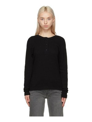 RE/DONE hanes edition thermal henley