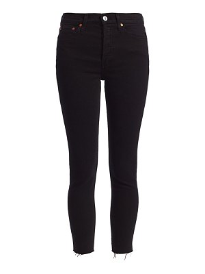 RE/DONE high-rise ankle skinny jeans
