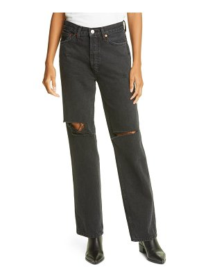 RE/DONE high waist loose jeans