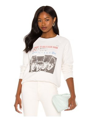 RE/DONE hold your hand classic raglan crewneck