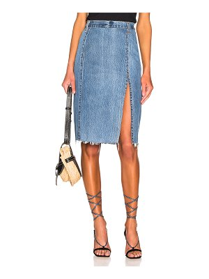 RE/DONE levis long skirt