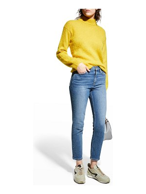 RE/DONE Mid-Rise Ankle Crop Jeans