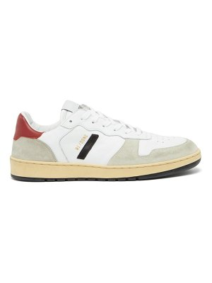 RE/DONE ORIGINALS 80s basketball leather and suede trainers