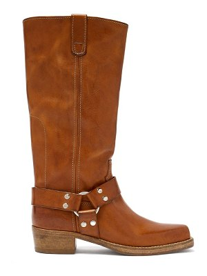 RE/DONE ORIGINALS cavalry leather knee-high boots