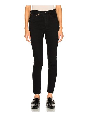 RE/DONE ORIGINALS High Rise Ankle Crop