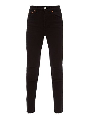 RE/DONE ORIGINALS high-rise cropped jeans