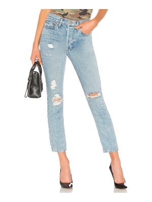 RE/DONE Originals High Rise Straight Jean