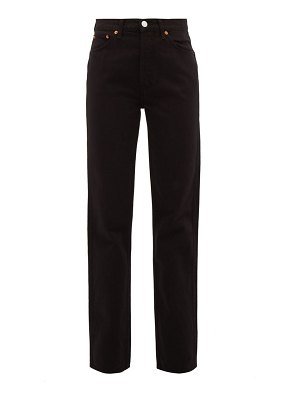 RE/DONE ORIGINALS high rise loose jeans