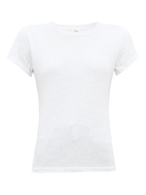 RE/DONE ORIGINALS x hanes boxy cotton t shirt