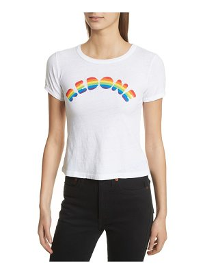 RE/DONE rainbow graphic tee