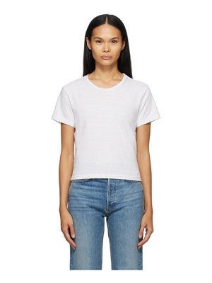 RE/DONE white hanes edition 1950s boxy t-shirt