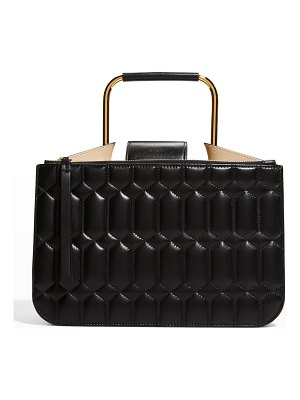 Ree Projects Tess Quilted Napa Pump Top-Handle Bag