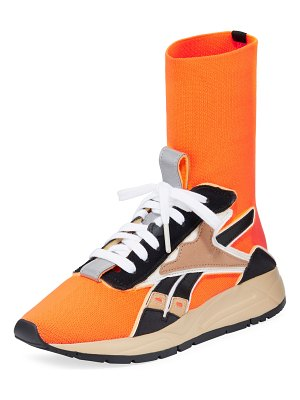 Reebok By Victoria Beckham Bolton Stretch-Knit Sock Sneakers