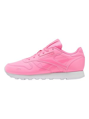 Reebok classic leather sneakers in pink