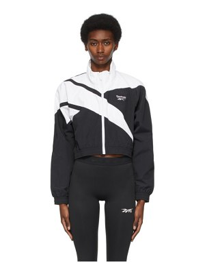 Reebok Classics and white cropped vector track jacket