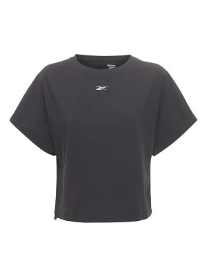 Reebok Classics Cl cropped cotton jersey t-shirt