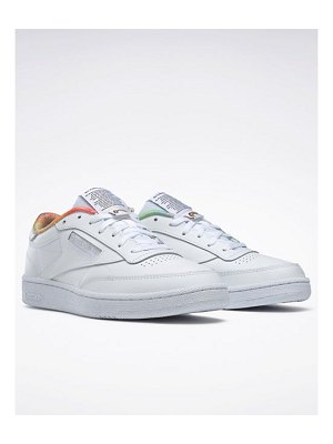 Reebok pride club c sneakers in white