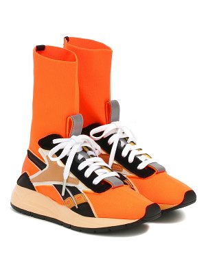 Reebok x Victoria Beckham bolton sock leather-trimmed sneakers