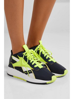 Reebok x Victoria Beckham bolton stretch-knit, leather and suede sneakers
