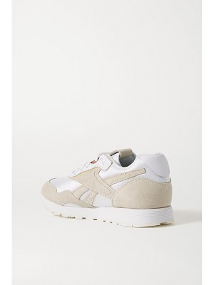 Reebok x Victoria Beckham rapide mesh, suede and leather sneakers