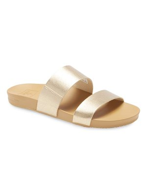 Reef cushion bounce vista slide sandal