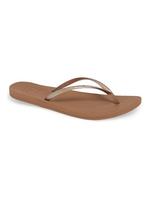 Reef escape lux metallic flip flop