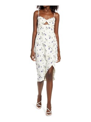 REFORMATION aero floral print sundress