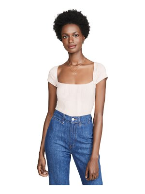 REFORMATION bardot top