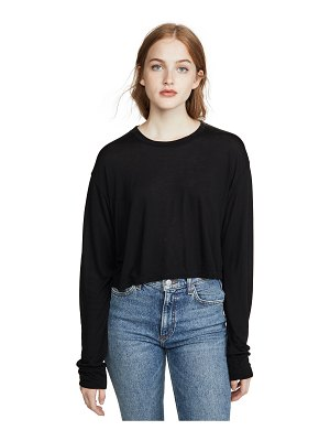 REFORMATION chloe long sleeve tee