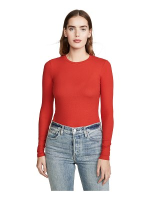 REFORMATION davy long sleeve tee