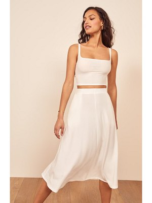 REFORMATION molly two-piece dress