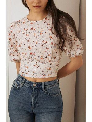 REFORMATION seychelles crop top