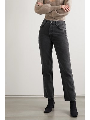 REFORMATION star high-rise straight-leg jeans