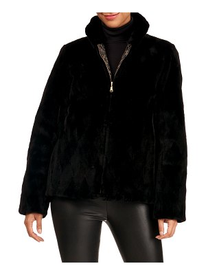 Reich Furs Reversible Sheared Mink Fur Section Jacket