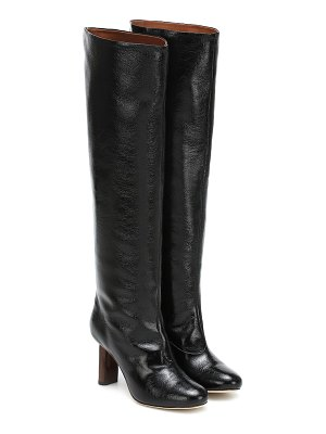 Rejina Pyo allegra leather knee-high boots