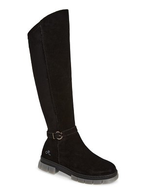 RELIGIOUS COMFORT tall lug sole boot