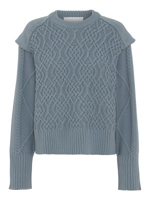 REMAIN Birger Christensen diana cable knit sweater