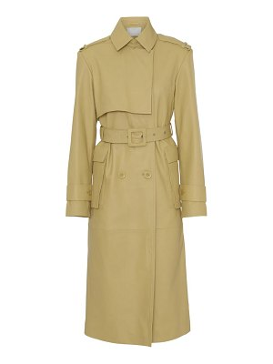 REMAIN Birger Christensen pirello leather trench coat