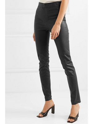 REMAIN Birger Christensen snipe stretch-leather skinny pants