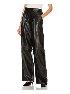 Remain duchesse leather pant