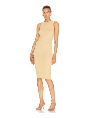 Remain gere sleeveless knit dress