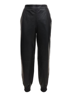 Remain Malus leather jogger pants