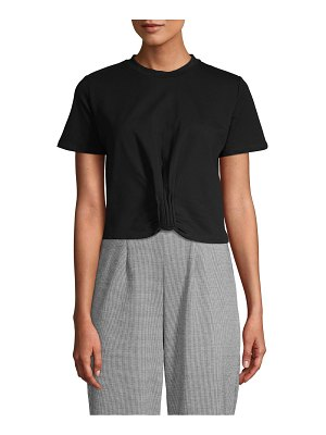 RENVY Tie-Front Short-Sleeve Tee
