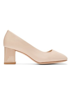 Repetto beige marlow pumps