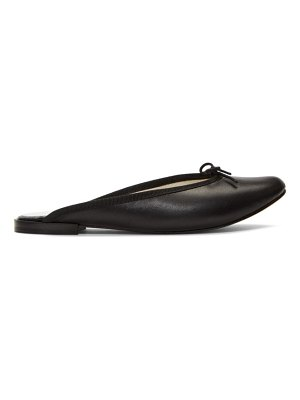 Repetto black leila mules