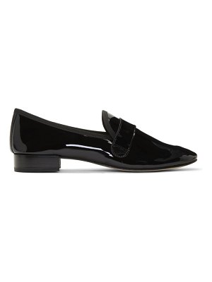 Repetto black michael loafers